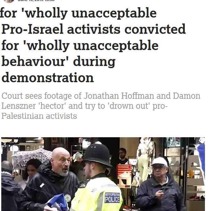 Jonathan Hoffman and Damon Lenzner Convicted of Thuggery and Physical Intimidation of Sandra Watfa